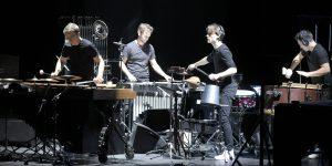 Beat#01,Schlagzeugensemble Repercussion kombiniert rhytmischen Drive mit der Lust am Experiment,am 26.01.2018 im Theater auf der Neckarstraße in Duisburg. Foto: Udo Gottschalk / FUNKE Foto Services